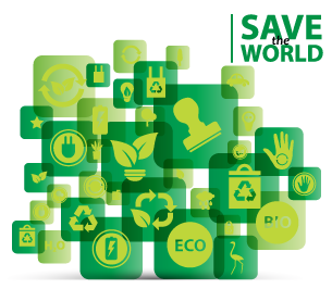 save the world, tecnologia verde, cuidar el medio ambiente