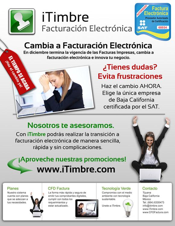 iTimbre, Facturacion Electronica