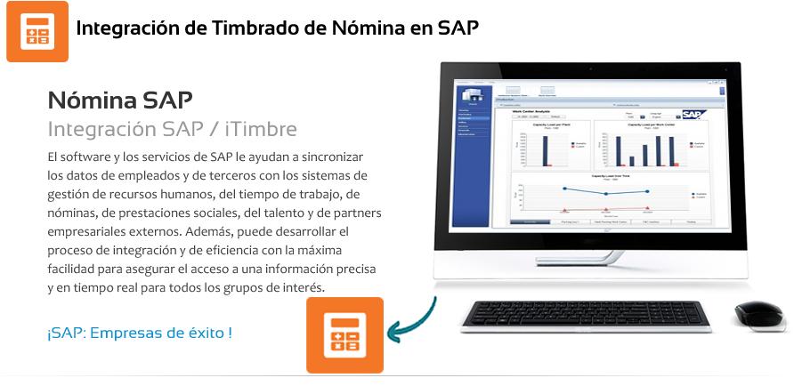 timbrado de nomina en SAP