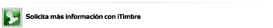 Solicita más información con iTimbre